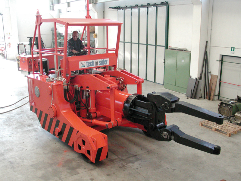 6 tons wheel manipulator