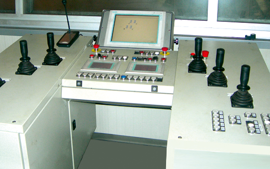 Control desk for forging Press integrated with Manipulator